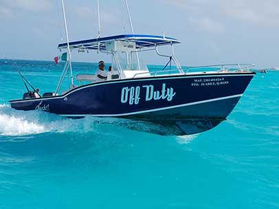 Cancun boat rentals isla mujeres boatscancun for Puerto morelos fishing